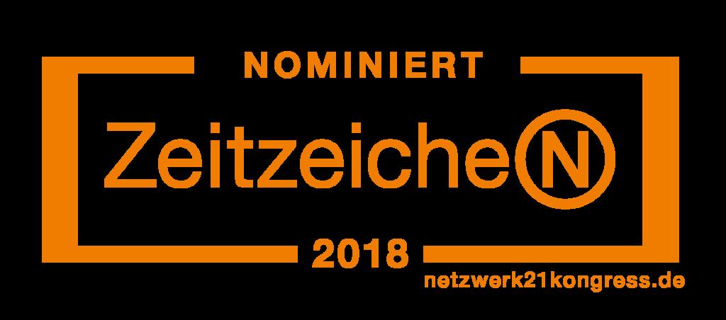 Nominiert Zeitzeichen 2018