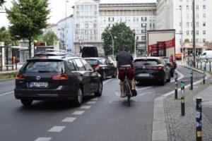 Fahrradweiche, Berlin-Friedrichshain