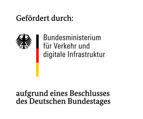 Gefördert durch das Bundesministerium für Verkehr und digitale Infrastruktur