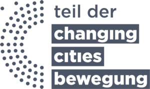 Badge: Teil der Changing Cities Bewegung