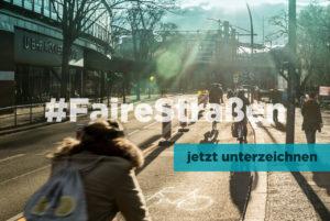 Kampagne #FaireStraßen