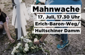 Mahnwache 17.7.2020