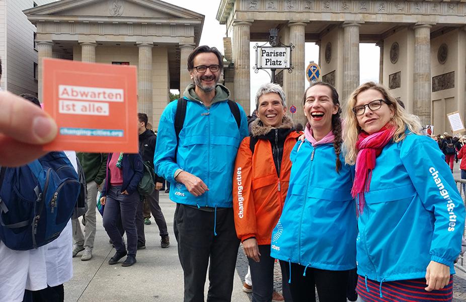 Changing Cities Aktivisten